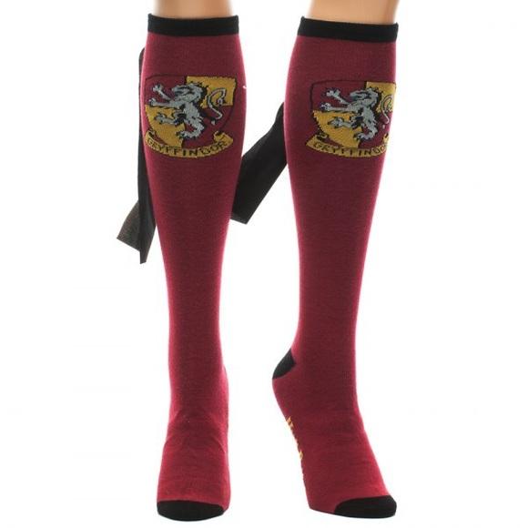 fe3460a698b Gryffindor Harry Potter Knee High Socks
